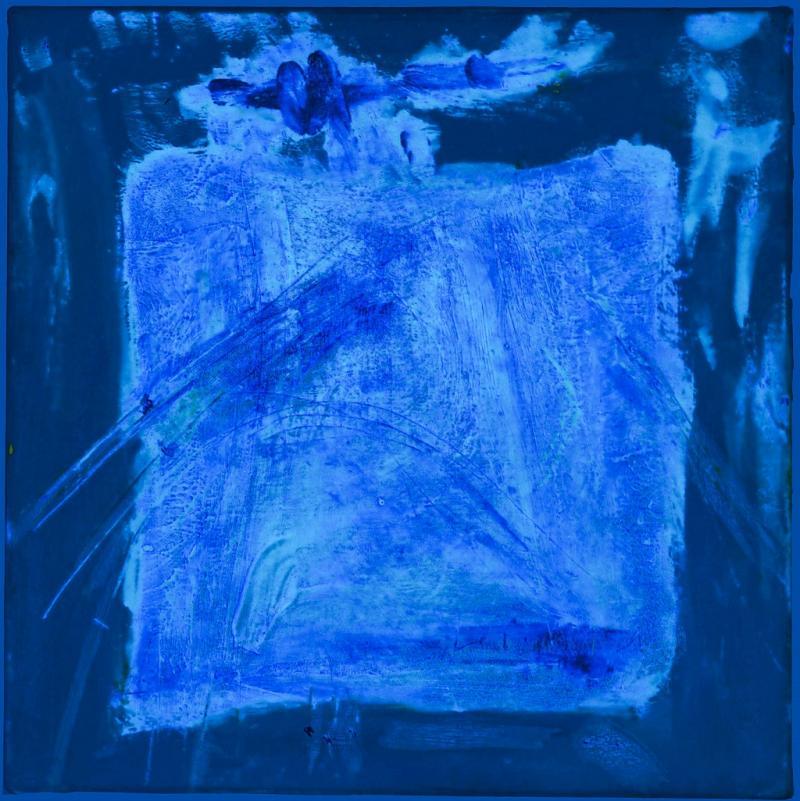 Die Farbe Blau - sehen, spüren, malen