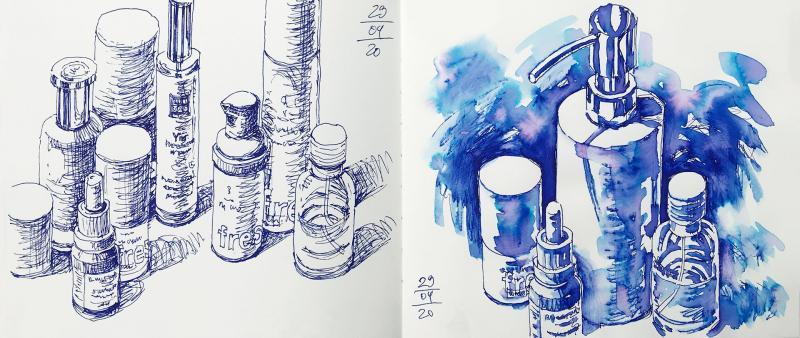 Die Schönheit des Alltäglichen. Urban Sketching leicht gemacht
