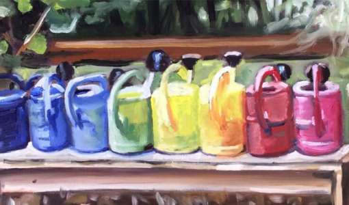 Daily Painting - Das tägliche Bild im kleinen Format