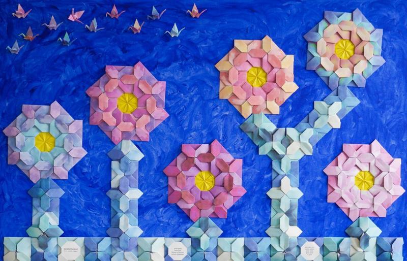 Origamikunst vom Königshof bis zum Bauhaus
