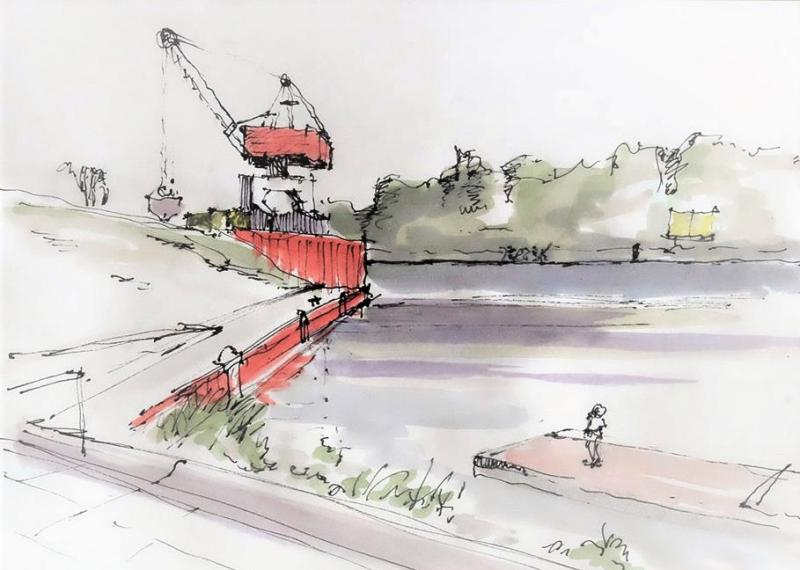 Farbe, Raum, Motiv: Meine Skizzen erzählen