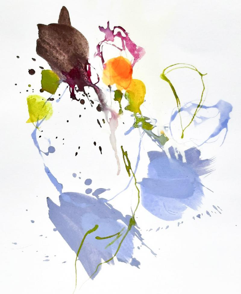 Farbbrillanz durch Tuschen und Pigmente