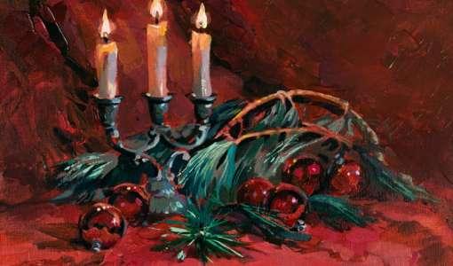 Im Licht von Weihnachten - Acryl Workshop