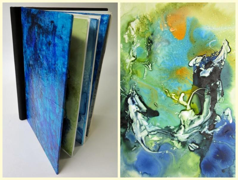 Tusche trifft Künstlerbuch
